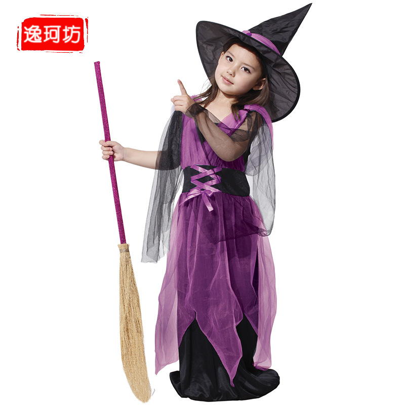 Kids Halloween Witch Costumes Lovely Witch Costume Kid