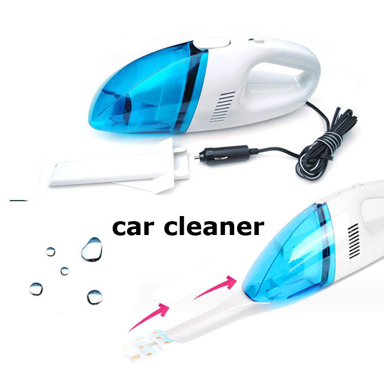 High Quality Portable Super Suction High Power Wet And Dry Handheld Mini Car Vacuum Cleaner Car Care tools()