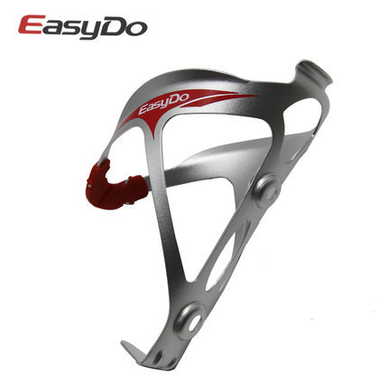 Free Easydo shipping Aluminium alloy Red Bike Cycling Bicycle Rack Kettle Water Bottle Rack Holder new(China (Mainland))