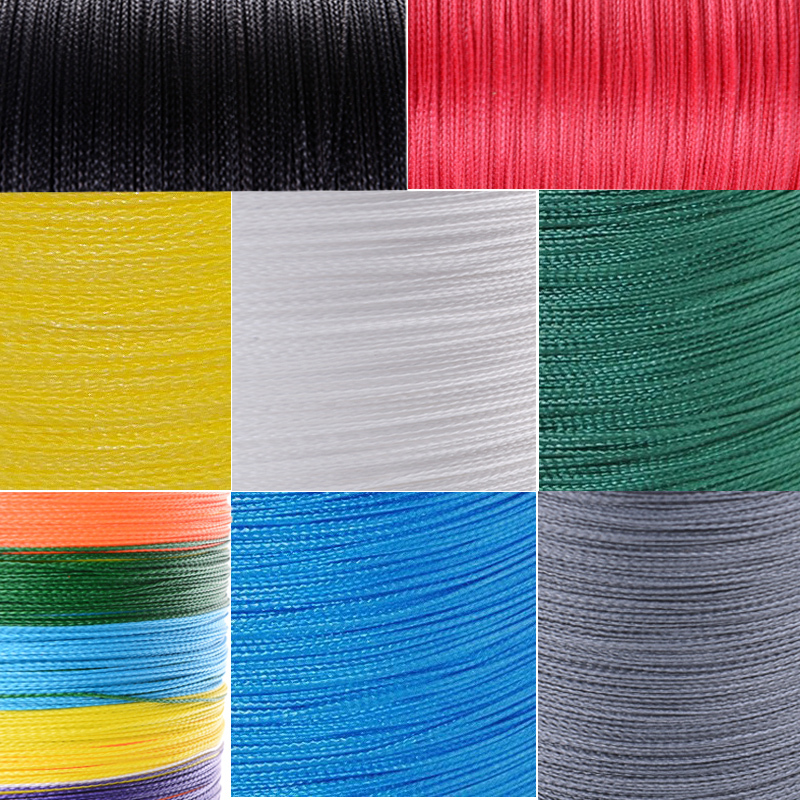 Гаджет  Wholesales 8 color to choices Japan Multifilament fishing line  500Meters strong pe braided  line  braided wire free shipping None Спорт и развлечения
