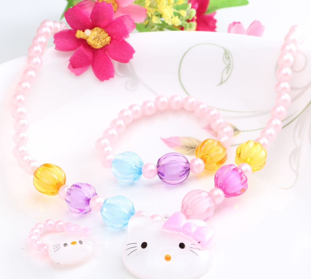 Candy Rings Jewelry Sweet Candy Beads Jewelry