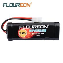 Buy 2 Packs FLOUREON 7.2V 3500mAh High Capacity SC*6 Cells Ni-MH Battery Pack Rechargeable Battery Tamiya Plug for RC Control Car for $31.79 in AliExpress store