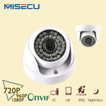 2.8mm wide angle 1mp/1.3mp/2mp onvif p2p 720 p/960 p/1080 p abs ip camera 25fps cupola smart phone view 36 pz ir visione notturna p2p(China (Mainland))