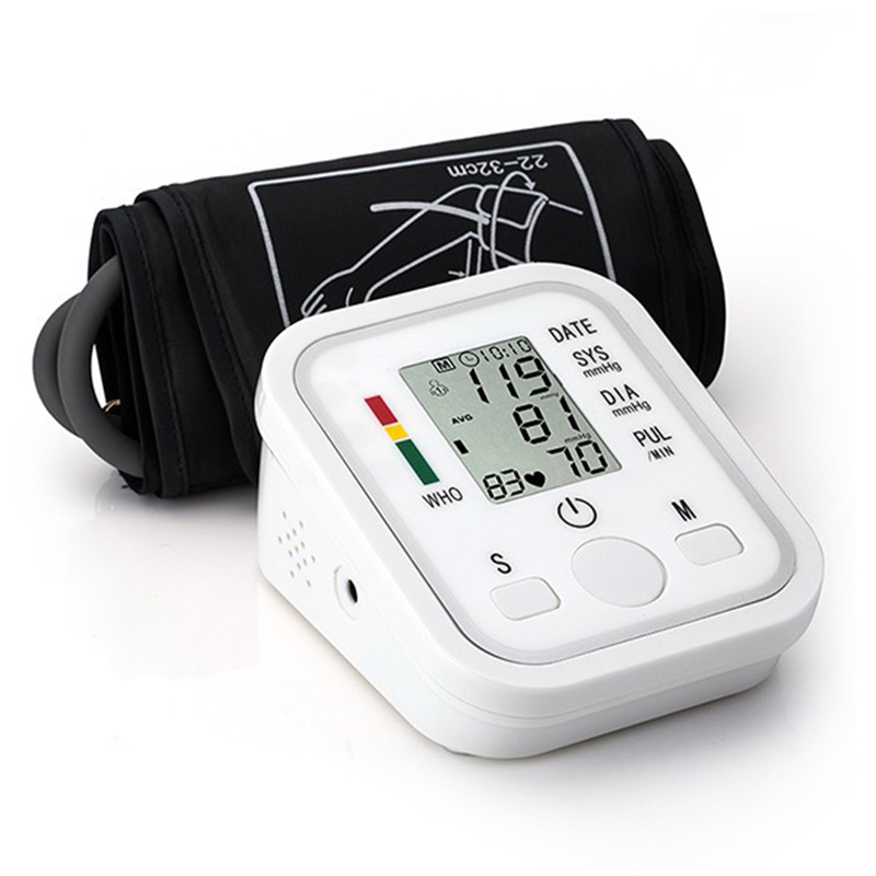 2016 New Household LED Monitors Portable Health Care Upper Arm Cuff Blood Pressure Monitors For UK Free Shipping R017-2  2016 New Household LED Monitors Portable Health Care Upper Arm Cuff Blood Pressure Monitors For UK Free Shipping R017-2
