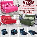100 cotton sofa bed high resilience foam sponge sofa folding sofa set multifunction living room metal
