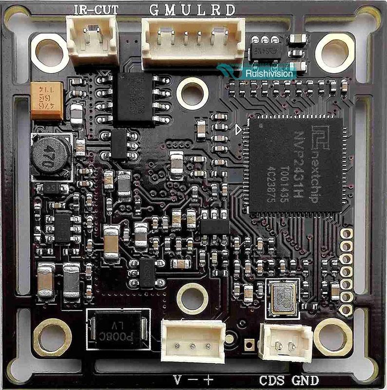 HD AHD 720P 1.0MP board camera module cctv camera PCB,1/4″ AR0141 CMOS + NVP2431H DSP, 0.01LUX 1000TVL 1280*720 PCB Board