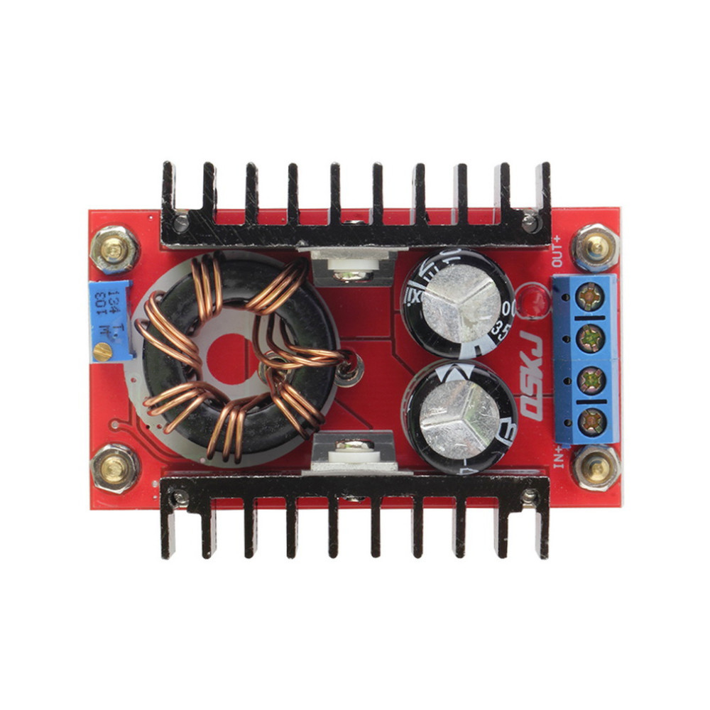 image for 1pcs 150W DC-DC Boost Converter 10-32V To 12-35V Step Up Charger Power