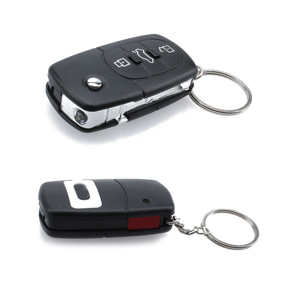 Funny Electric Shock Gag Joke Prank Car Key Remote Fun C TD#T(China (Mainland))