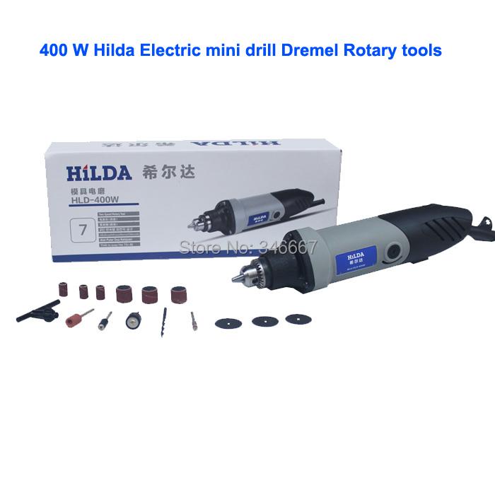 Dremel Hardware Variable Speed Rotary Tool Electric Tools 400W ,Mini Drill 6 position Dremel Rotary Tools mini grinding machine(China (Mainland))