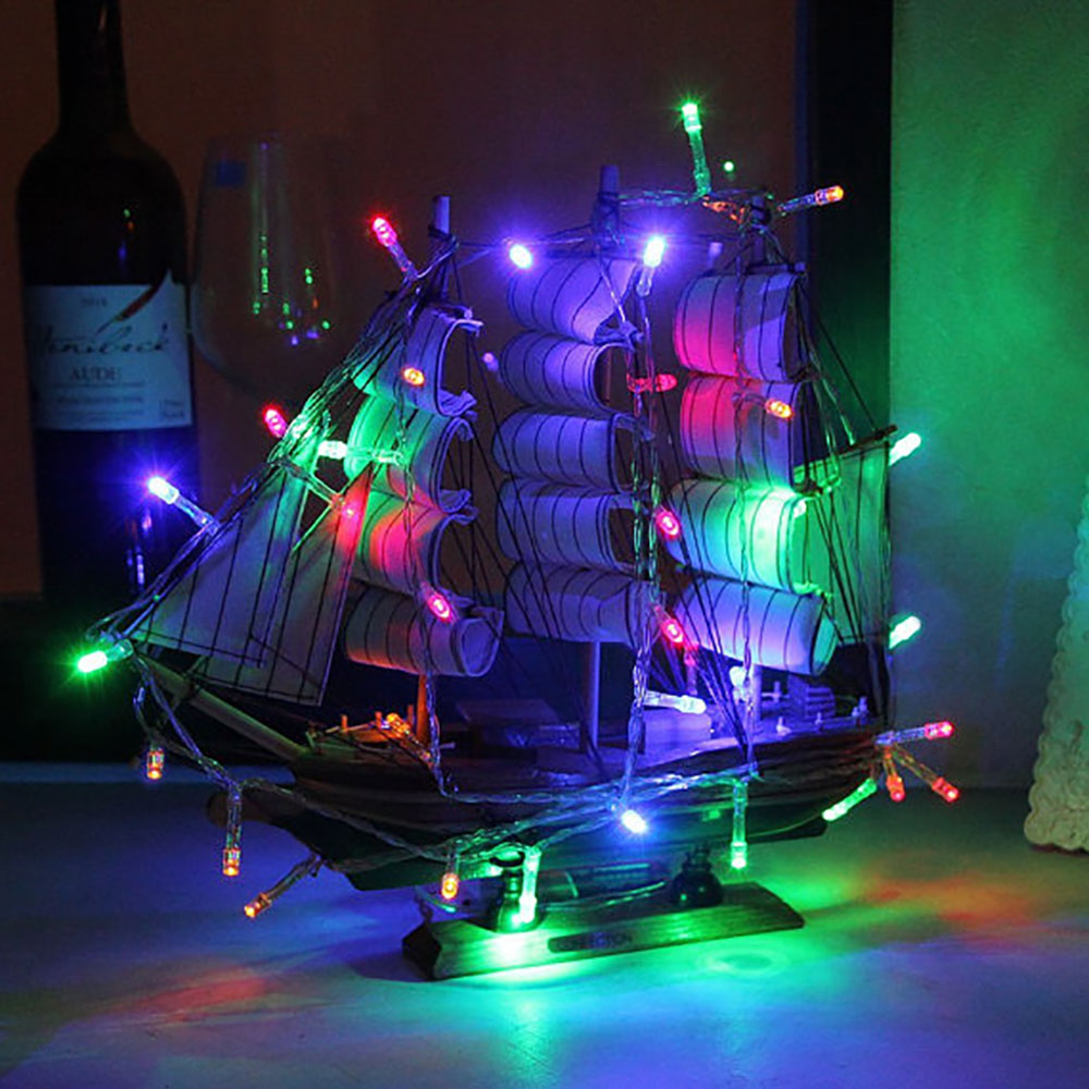 String Lights Houses : 3pcs/lot 3m 30 Leds Battery Power Operated Led String Lights Fairy Christmas Garland String for ...