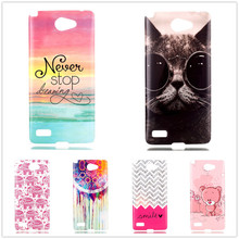 Cute Stylish Flexible TPU Phone Cases For LG L Bello 2 II Soft Case Clear Sides Silicon Back Cover Shell Skin Proection