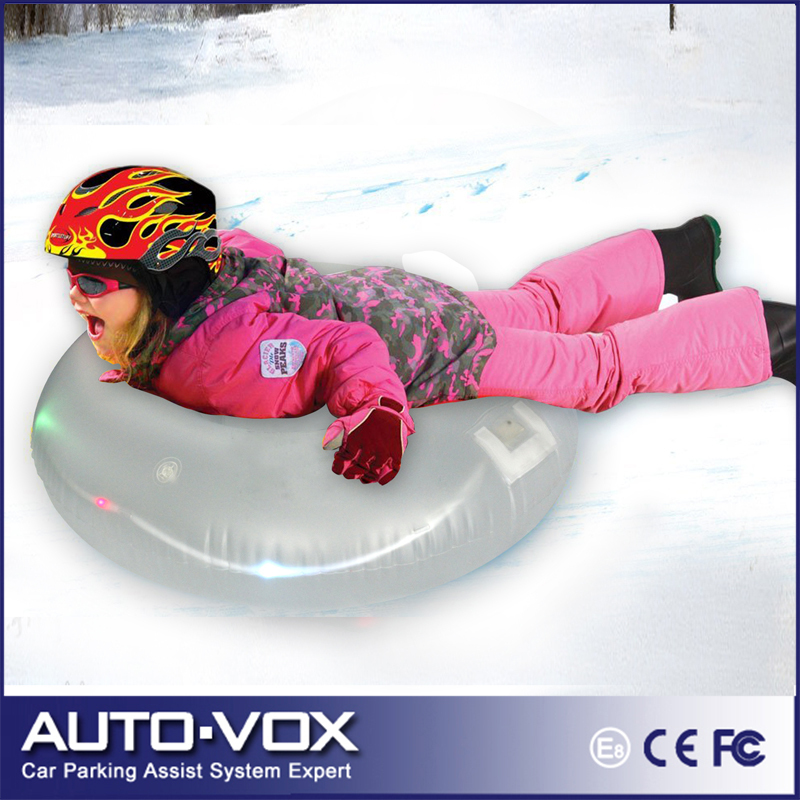 PVC Snow Tube Snow Sled 80CM for One Person Children Sled Snow Inflatable Snow Skiing Tubes Sofa for Kids Safe Skiing(China (Mainland))