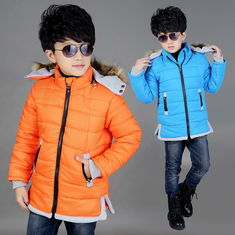 2015 boys cotton-padded clothes Childrens wear thick inverno coat leisure parka infantile kids casaco baby boy winter clothes<br><br>Aliexpress