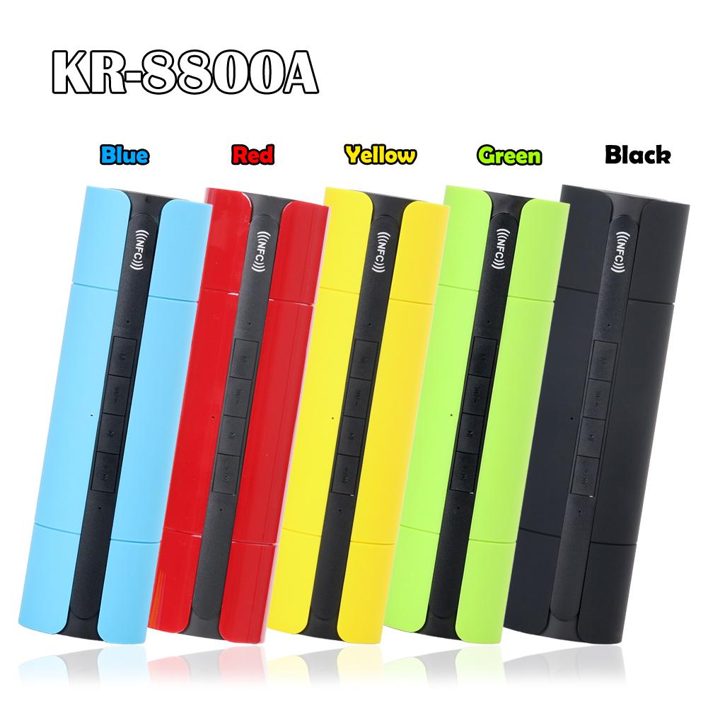 KR-8800A Smart 3D Bluetooth Speaker NFC USB/TF/Aux/Radio Handsfree Call+Mic - eChange 3C GROUP CO., LTD store