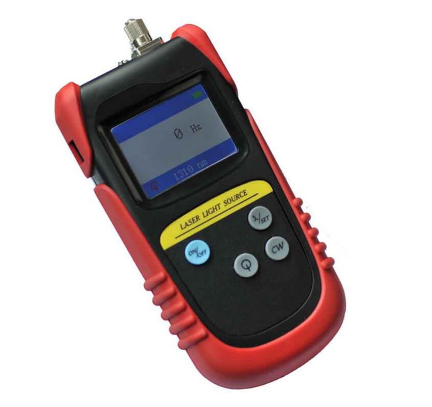 Handheld TLD7002P Fiber optic light source 1310//1490/1550nm Fiber red light source Fiber optic light source meter By DHL(China (Mainland))