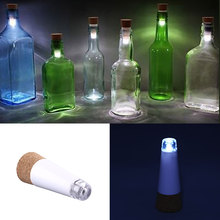 USB Power Rechargeable Cork Shape Wine Bottle Suck Durable Lamp Home Party Decor Decoration Night Light(China (Mainland))