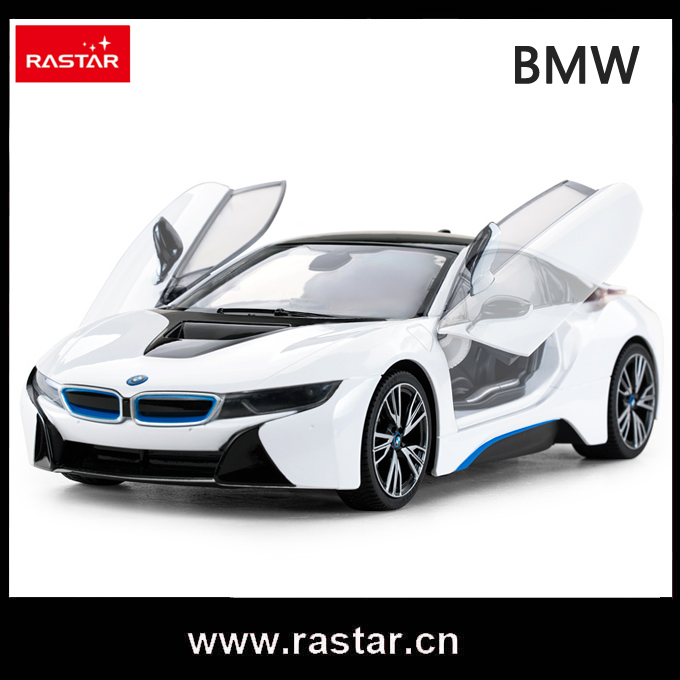 Rastar licensed 1/14 BMW radio controlled model cars one key to open the door with usb charging cable 71060(China (Mainland))
