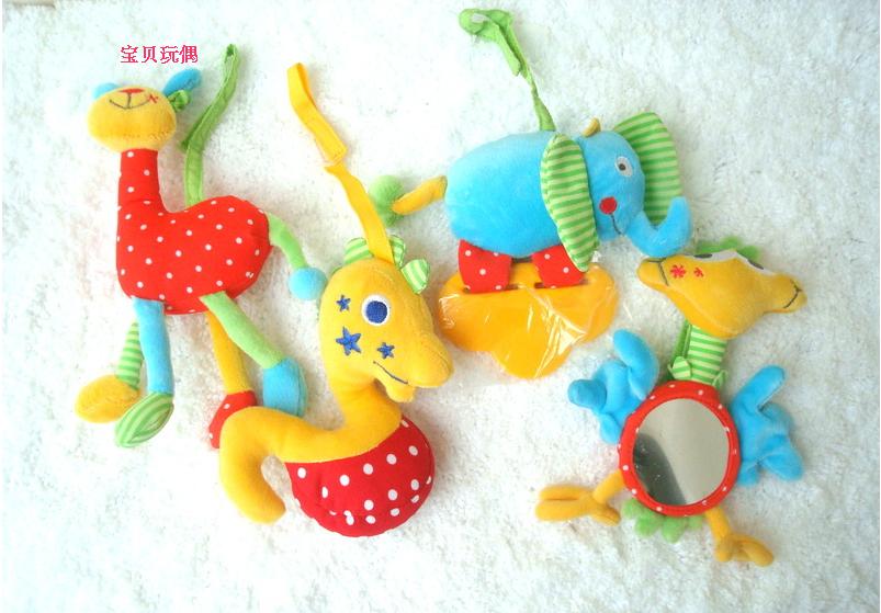 Chicco toys animal style multifunctional lathe baby toy(China (Mainland))