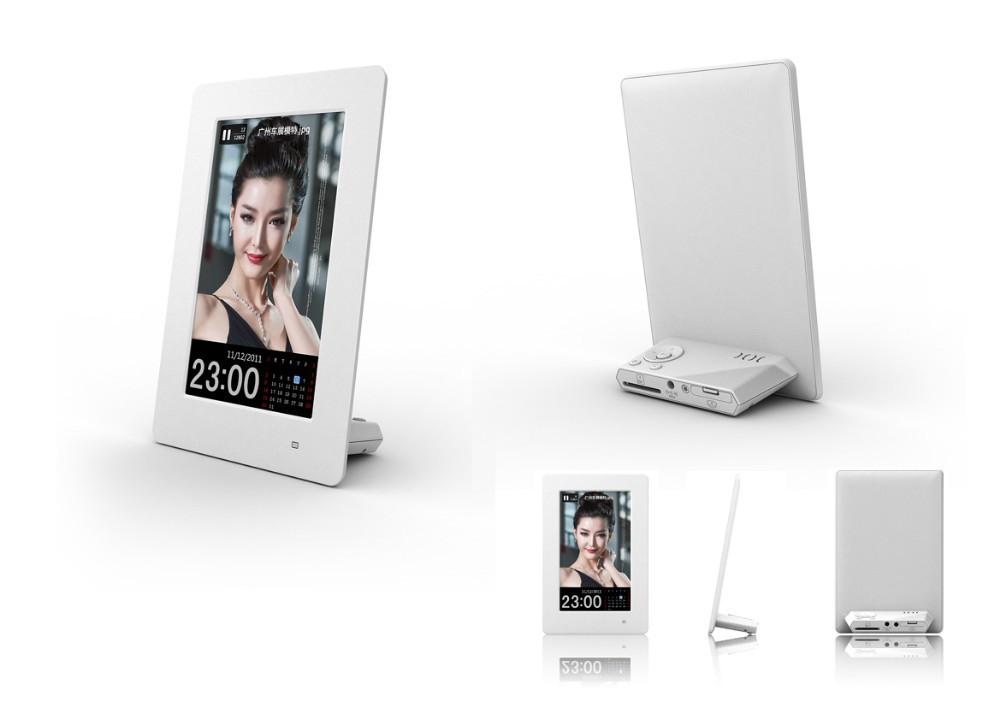 New 6 inch Vertical Hi-definition Digital Photo Frame with Clock & Calendar function, Ligit Sensor, Gift(China (Mainland))