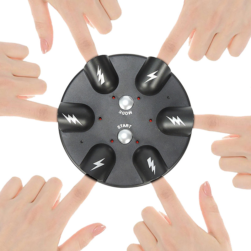 Funtoy Tricky Finger Shock Game Shocking Roulette Shots Reloaded Shock Table Game The Cogs of Fate Party Shot Drinking Game Electric Finger Lie Detector