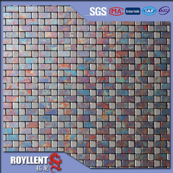 Buy NEW PATTERN METAL MOSAIC TILES FOR BATHROOM DECOR CHEAP