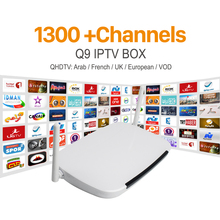 Buy Android Smart TV Box 1 Year Free Qhdtv Iptv Channels Arabic Europe Italia France Canal Plus French Set Top Box Media Player for $68.99 in AliExpress store