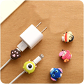 Cute Kawaii Lovely Cartoon Cable Protector Pretty USB Cable Winder Cover Case Shell For IPhone 5