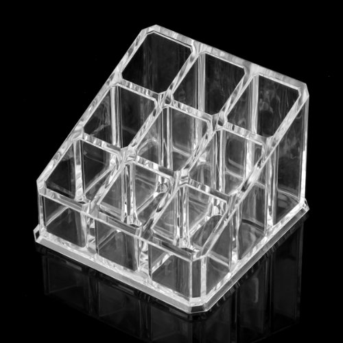 10x( 2016 Makeup 9 Lipstick Acrylic Storage Display Stand Case Rack Holder<br><br>Aliexpress