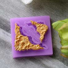 1 piece Border silicone mold fondant mold cake decorating tools chocolate gumpaste mold CK-SM-135(China (Mainland))