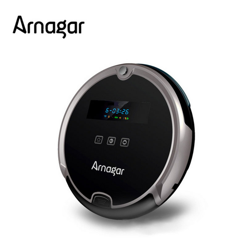 Arnagar Intelligent Robot Vacuum Cleaner for House Carpet Floor Cleaning Timing Schedule Automatic Recharge Home ROBOT Aspirador(China (Mainland))