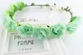 New Women Retail princess headdresses flower Girl Circlet Rose Hair Garland women girls flower wreath Headpiece