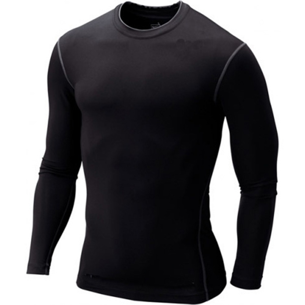 Men Boy Compression Base Layer Tight Top Shirt Skin Long Sleeve T-shirt Tops Tees - All For Fashion-Retail & s store