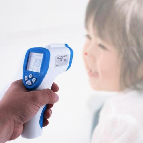 Гаджет  Non-Contact IR Laser Temp Gun Infrared Digital Thermometer Kids Infant Temperature Tester LCD Backlight None Инструменты