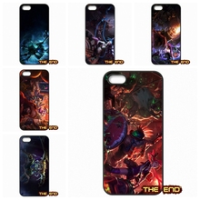 HTC One X S M7 M8 M9 A9 Plus Desire 816 820 Blackberry Z10 Q10 Jinx Nasus LOL Heroes Pattern Cell Phone Case Cover Capa - The End Cases Store store
