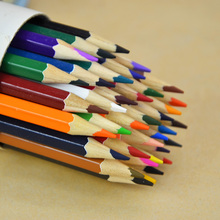 Buy Free colored pencil children gift 12,24,36 color pencil drawing color pencil basswood barrel colored pencil for $6.00 in AliExpress store