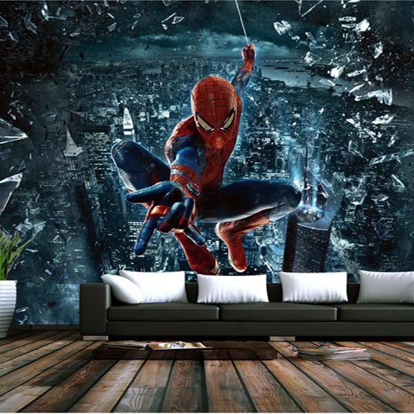 deco chambre spiderman avec des id es. Black Bedroom Furniture Sets. Home Design Ideas