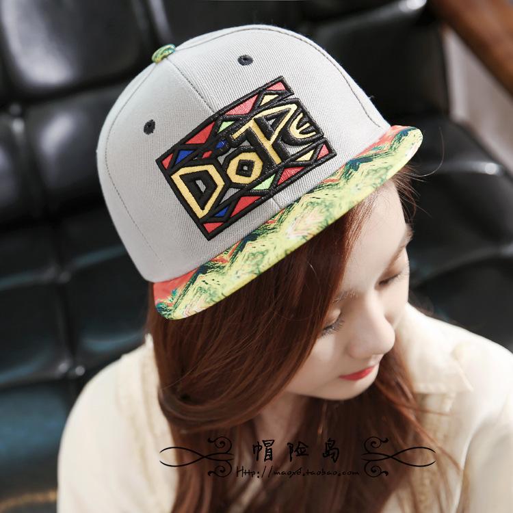 Flat Brim Caps For Girls Cap Flat Brim Hat Girl