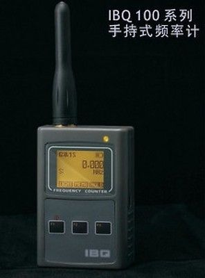 New IBQ101 50M-2.6G Transmitter Finder / RF Frequency Scanner(China (Mainland))