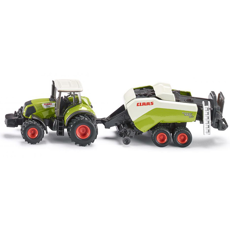 siku 1:87 Claas Axion large square baler 1852 alloy metal model car toy gift collection - Play World store