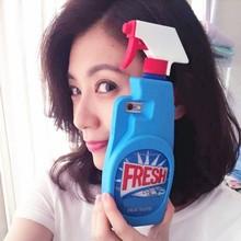Fresh Cleaning Spray Fresh Couture EAU DE TOILETTE Phone Case Cover For iPhone 5 5S 6 6 Plus 6S 6S Plus Carcasa Fundas(China (Mainland))