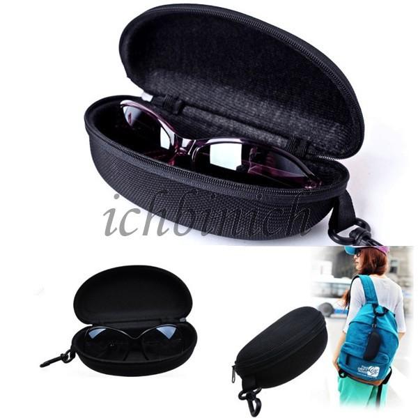 Schwarz Brillen Etui Sonnenbrillen Zipper Eye Glasses Sunglasses Hard Case Box Portable Protector Pouch Black Caja Gafas Goggle - Only For You 2013 store