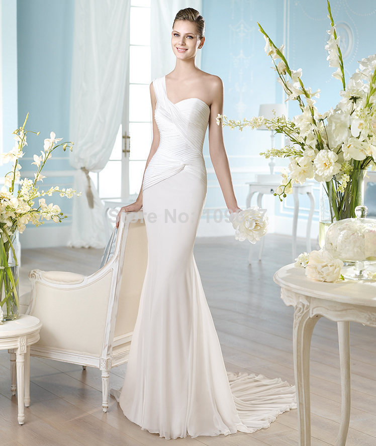 simple elegant ivory wedding dresses