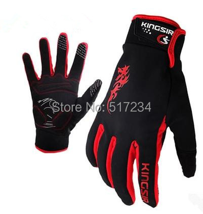 Winter Cycling Gloves Mountain Bicycle Full Finger Bike - Howard Liu's store
