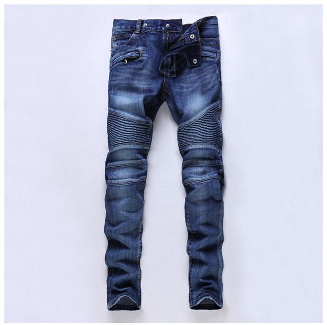 Европейский американский стиль 2016 мода бренд дизайнер джинсы для мужчин роскошных ...