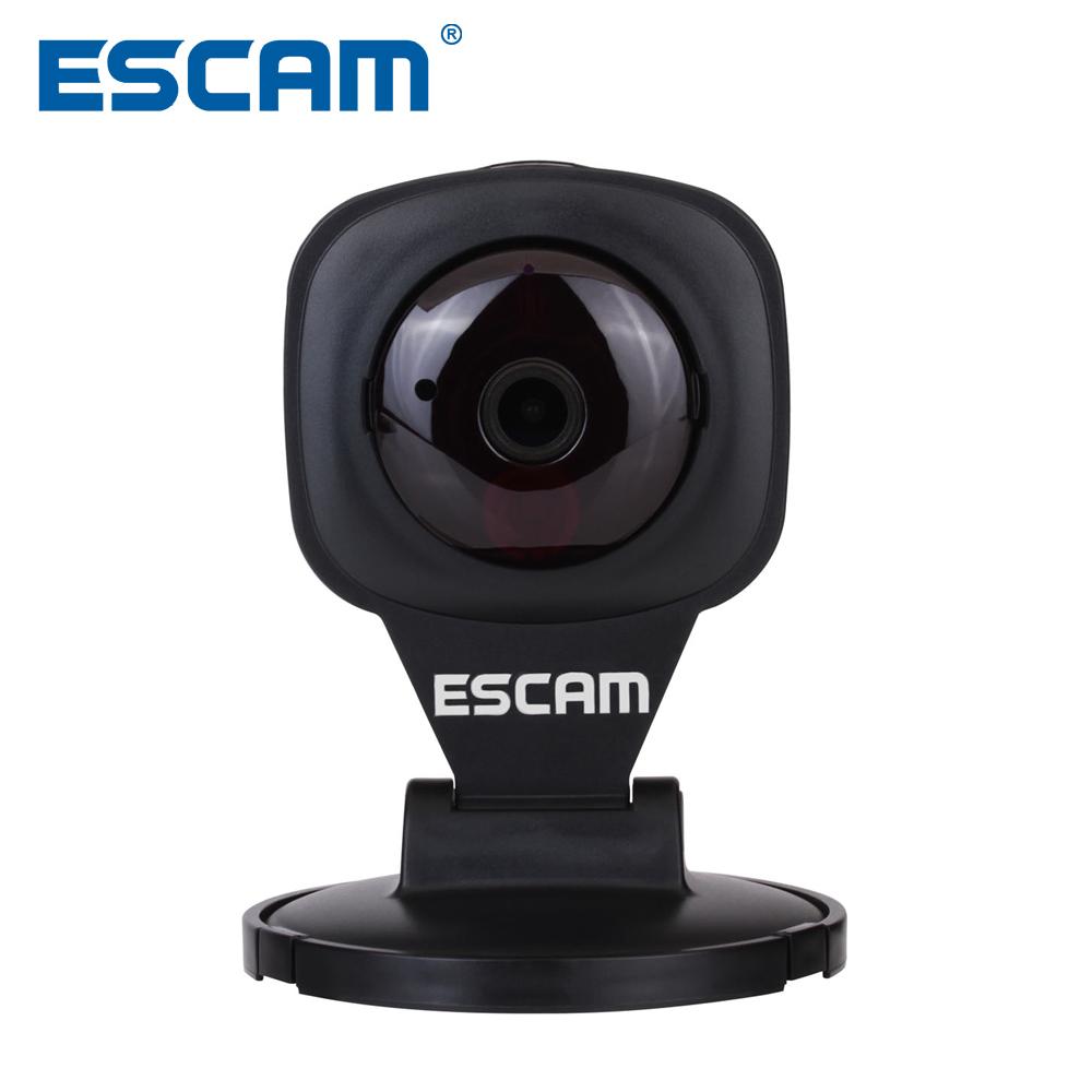 ESCAM Diamond QF506 Black 1MP 720P Wifi Mini indoor IP Camera 2 Way Audio Motion Detection P2P Onvif Alarm Support TF 64GB 825(China (Mainland))