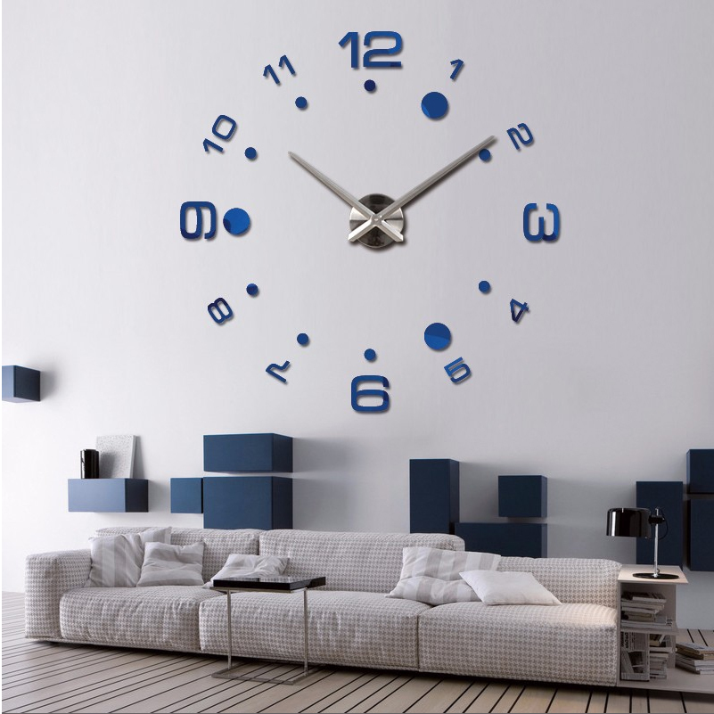 New 2015 Hot Large Diy Wall Clock Home Decor Wall Watch