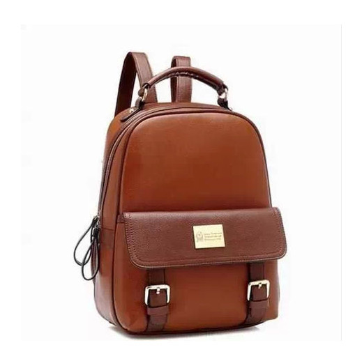 2014 PU Leather backpack Ladies Brand Backpack Preppy Style School Backpacks Bag Women's - Fashiongo store