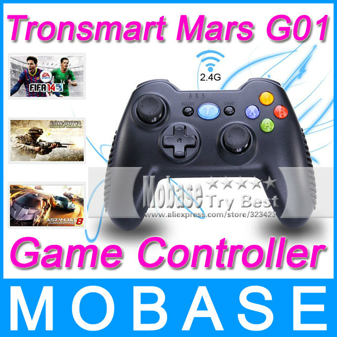Tronsmart Mars G01 2.4GHz Wireless Gamepad for PlayStation 3 PS3 Game Controller Joystick for Android TV Box Windows Kindle Fire(China (Mainland))