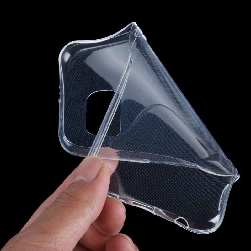 Ultra Thin 0.3mm Soft TPU Clear Phone Cases Transparent Back Cover Case Samsung Galaxy S6 G9200 Slim Skin Protective Capa - Shenzhen Regu Technology Co., Ltd store