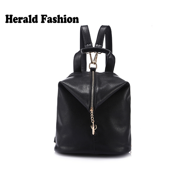 Рюкзак Herald Fashion Pu Mochilas Femininas 140805B рюкзак designer backpack 2015 mochilas femininas school bags for teenagers